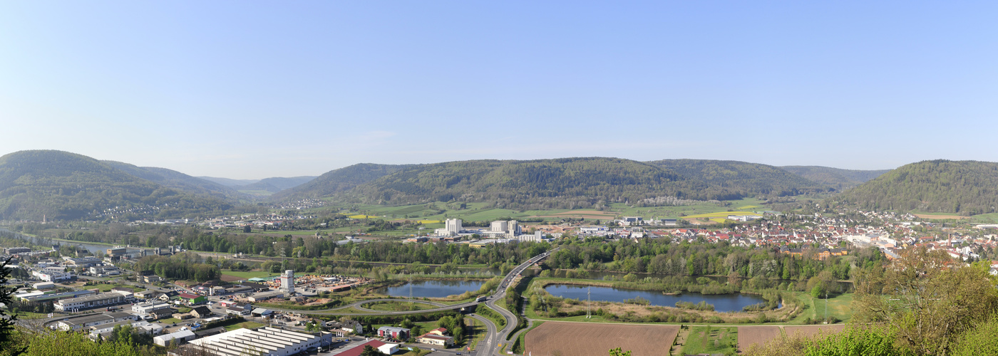 Blick vom Kloster Engelberg