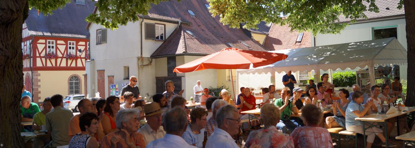 Sommerfest im Kirchhof